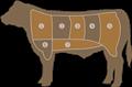krava rozdelenie mäsa pxb