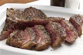 steak t-bone sliced